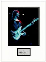Denny Laine Autograph Signed Display